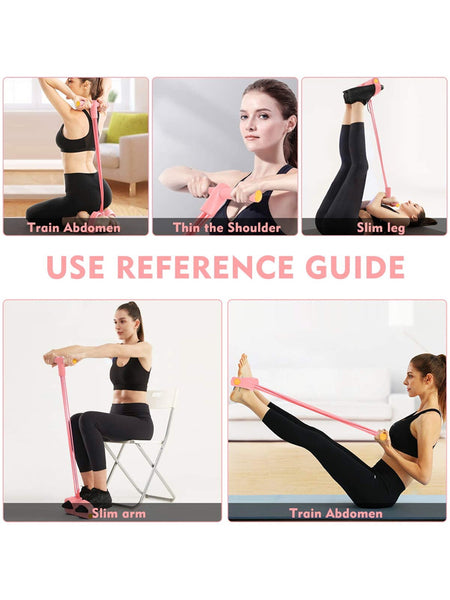 Multi-Function-Tension-Rope-Pedal-Resistance-Bands