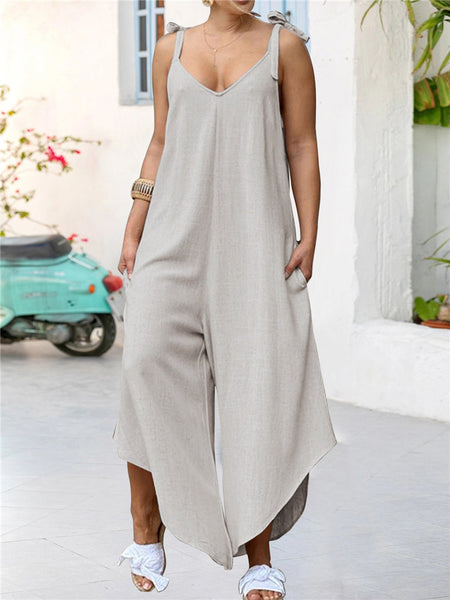 Irregular-Wide-Leg-Loose-Casual-Romper