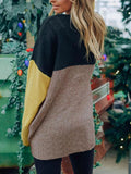Loose-Matching-Color-Block-Sweater