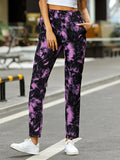 Tie-dye Printed Casual Home Pants
