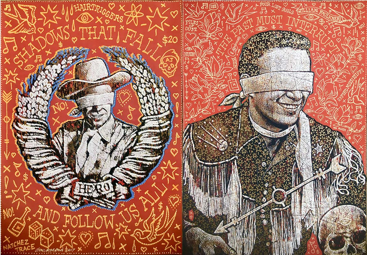 Jon Langford - Lost Souls: Paintings & Painted Monoprints