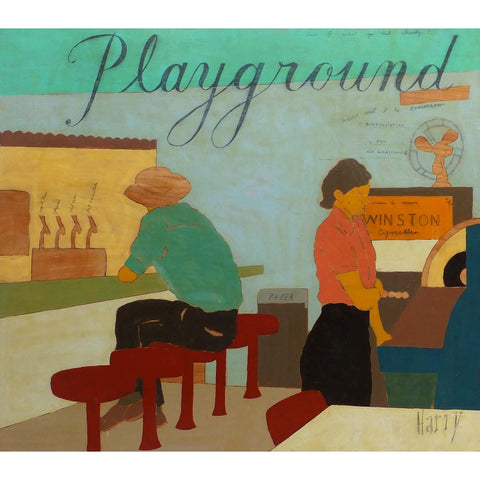Playground by Harry Underwood at yarddog.com
