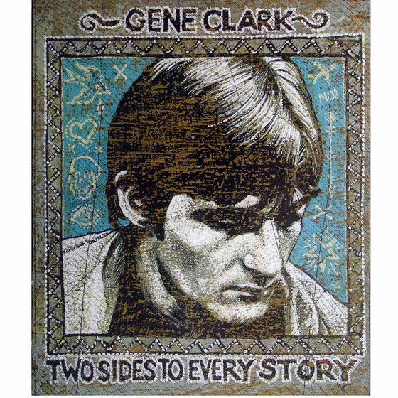 Gene Clark - Jon Langford - Yard Dog Art