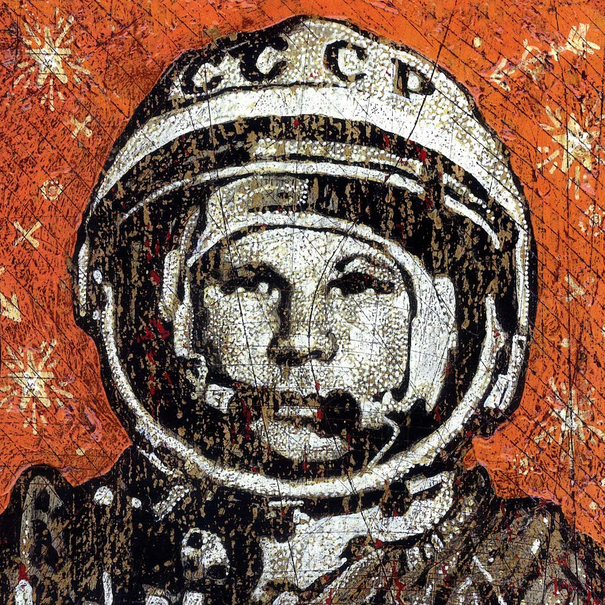 Gagarin - Jon Langford - Yard Dog Art