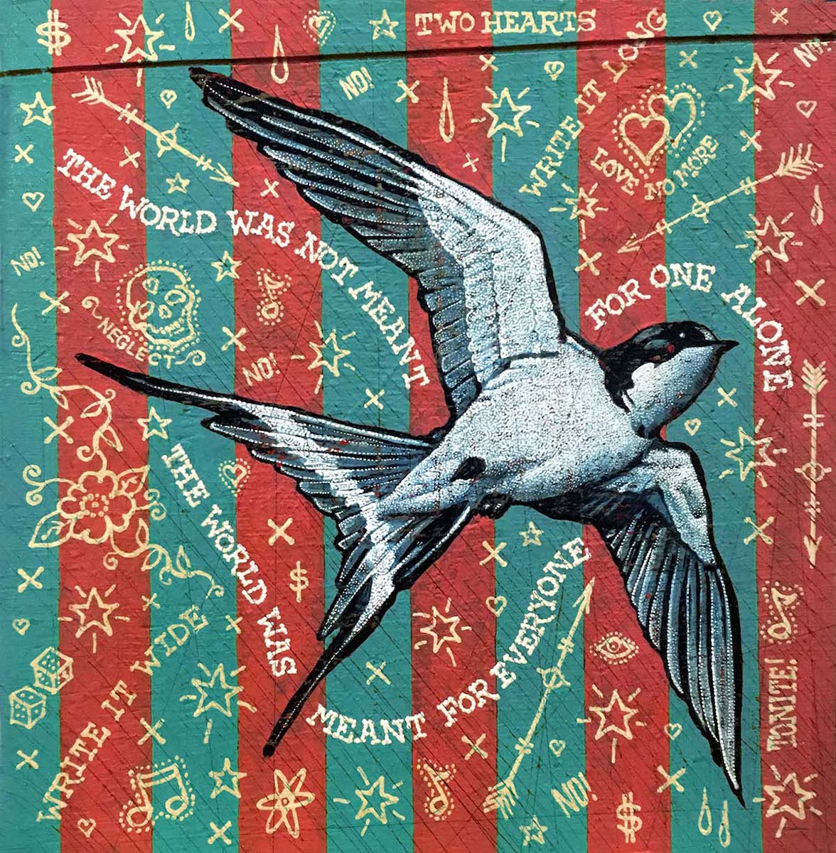 Like A Swallow - Jon Langford - Yard Dog Art