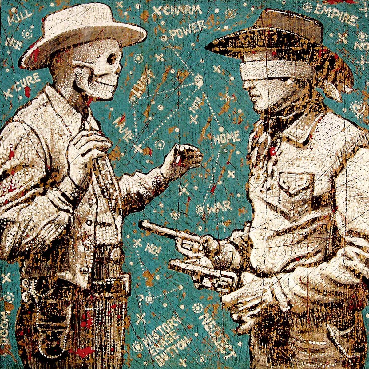 Star Map Cowboys - Jon Langford - Yard Dog Art