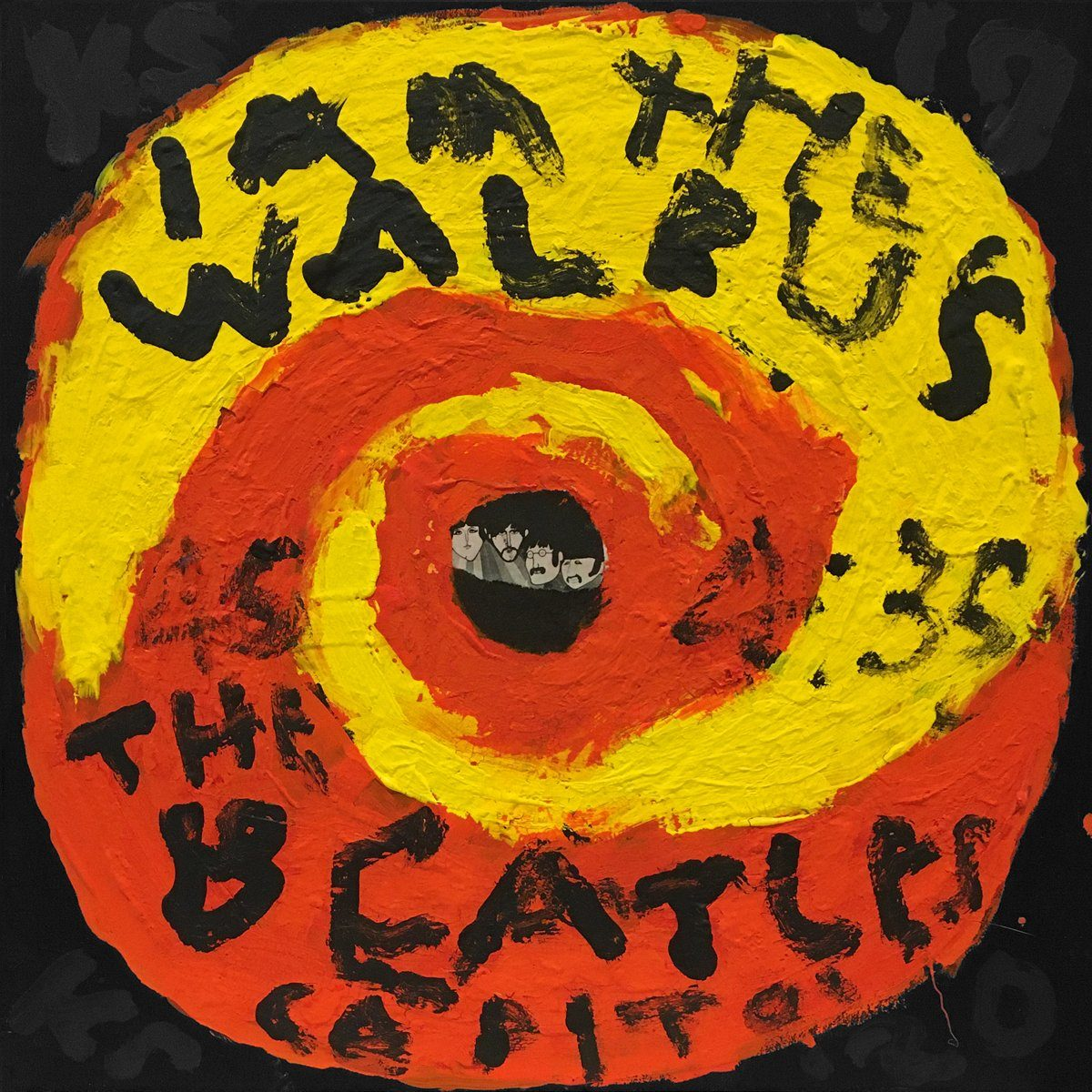 The Beatles - I Am The Walrus - Kerry Smith - Yard Dog Art
