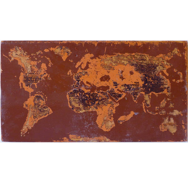 Shelf Brown Orange World 2015 - Clint Griffin - Yard Dog Art