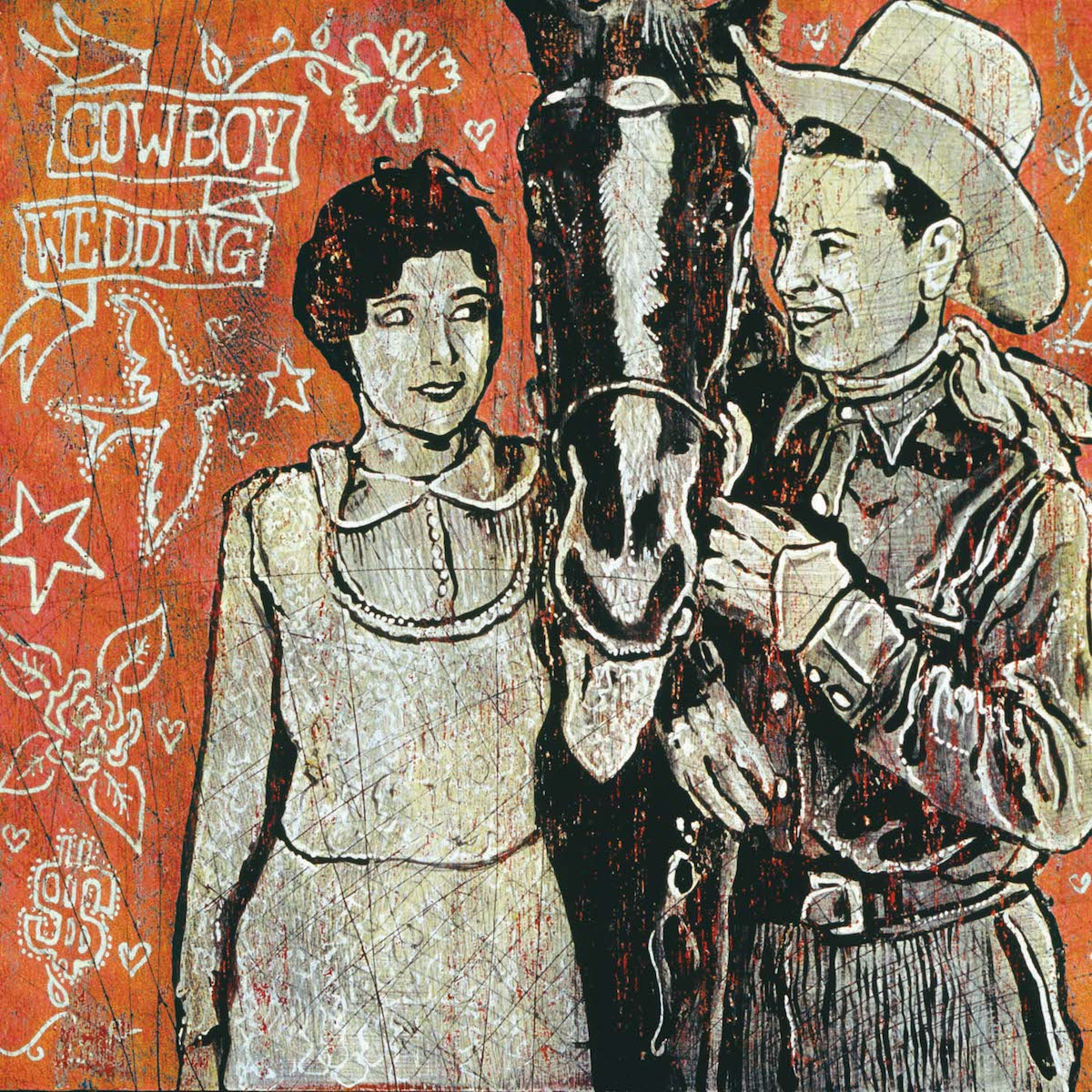 Cowboy Wedding - Jon Langford - Yard Dog Art