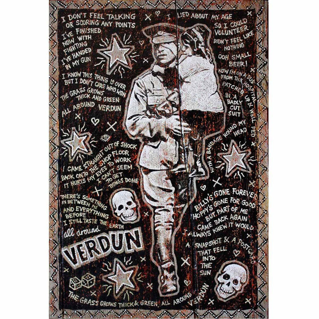 Verdun - Jon Langford - Yard Dog Art