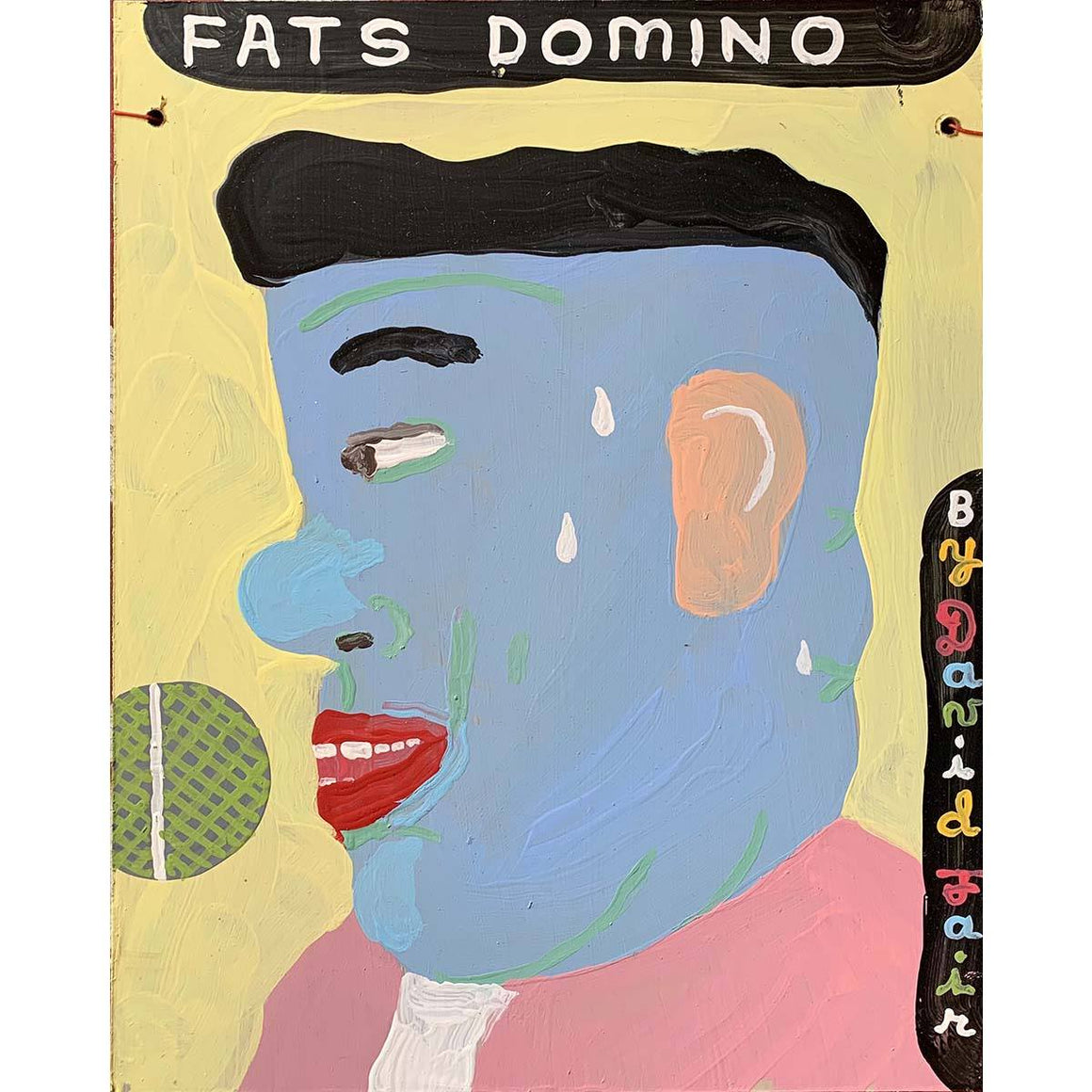 Fats Domino - David Fair - Yard Dog Art