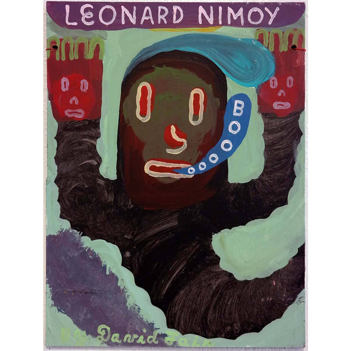 Leonard Nimoy - David Fair - Yard Dog Art