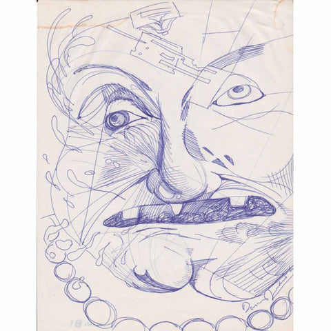 3 Teeth - Daniel Johnston - Yard Dog Art
