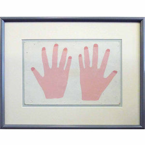 Pink Hands - Uncle Pete Drgac - Yard Dog Art