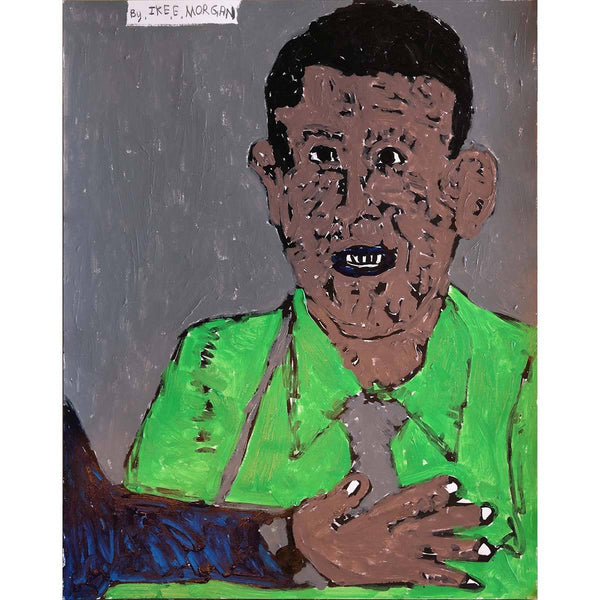 Obama (im93) - Ike Morgan - Yard Dog Art