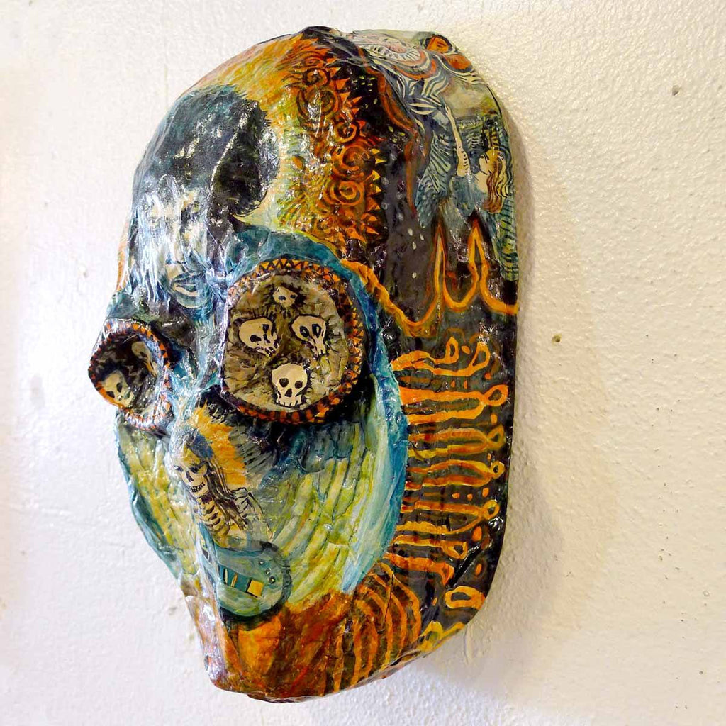Hendrix Mask - Jo Clauwaert - Yard Dog Art