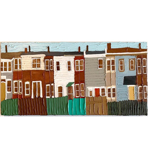 Two Yellow Doors - Jennifer Harrison - Yard Dog Art