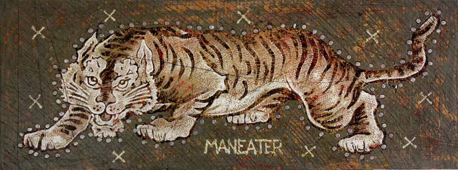 Maneater - Jon Langford - Yard Dog Art