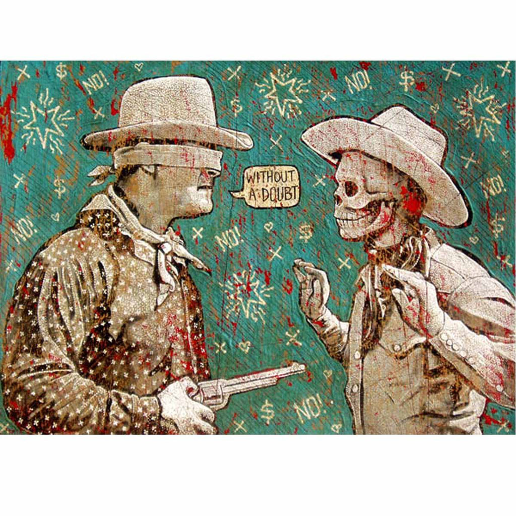 Without A Doubt - Jon Langford - Yard Dog Art