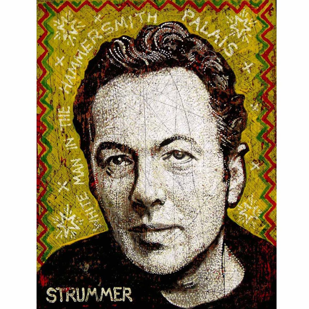Joe Strummer - Jon Langford - Yard Dog Art