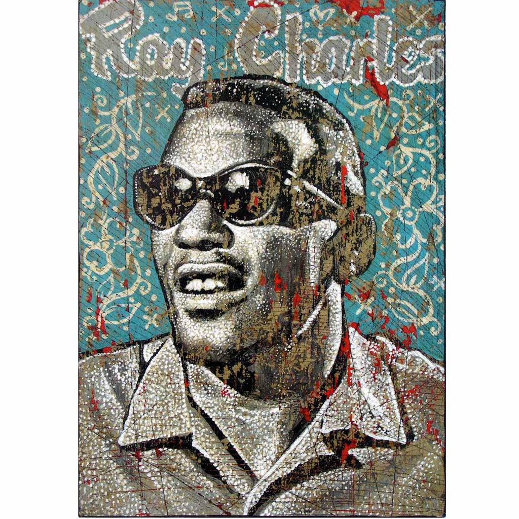 Ray Charles - Jon Langford - Yard Dog Art