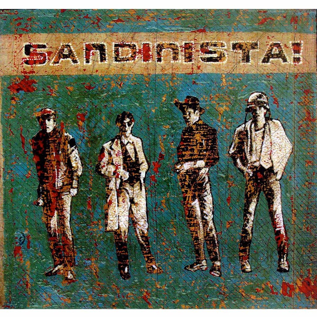 Sandinista - Jon Langford - Yard Dog Art