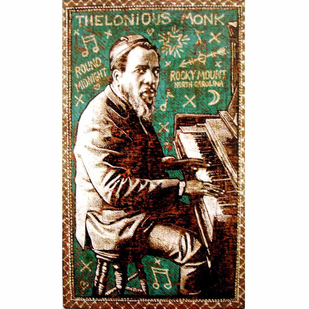 Thelonius Monk - Jon Langford - Yard Dog Art