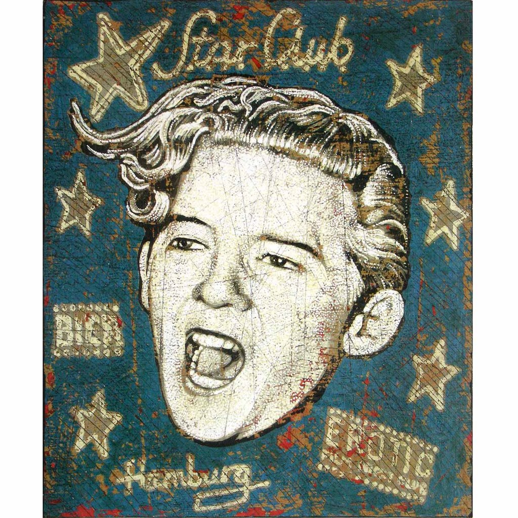 Jerry Lee Lewis - Jon Langford - Yard Dog Art