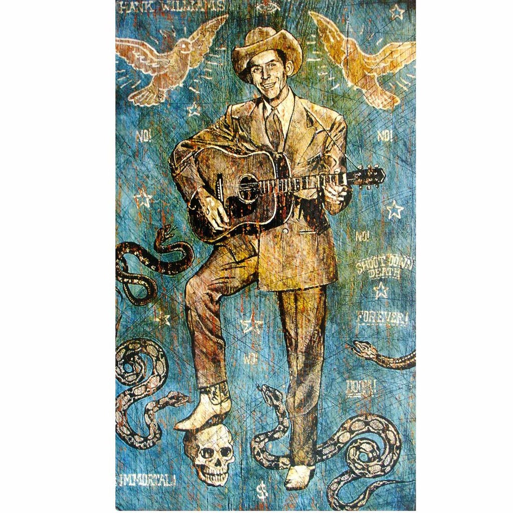 Hank Immortal - Jon Langford - Yard Dog Art