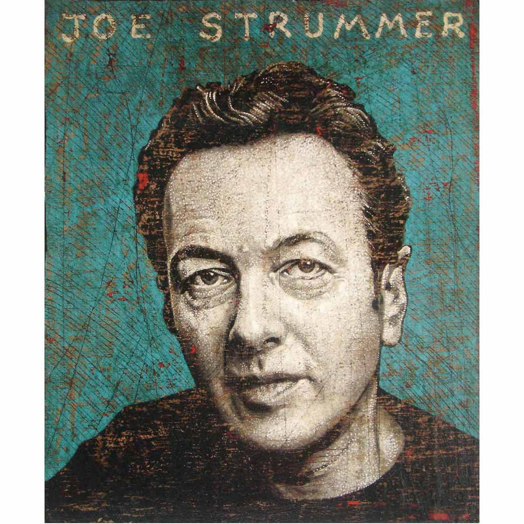 Strummer - Jon Langford - Yard Dog Art