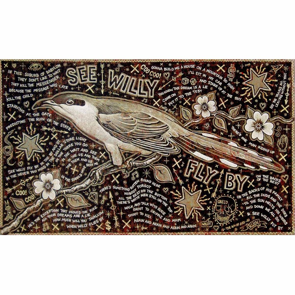 See Wily Fly By - Jon Langford - Yard Dog Art