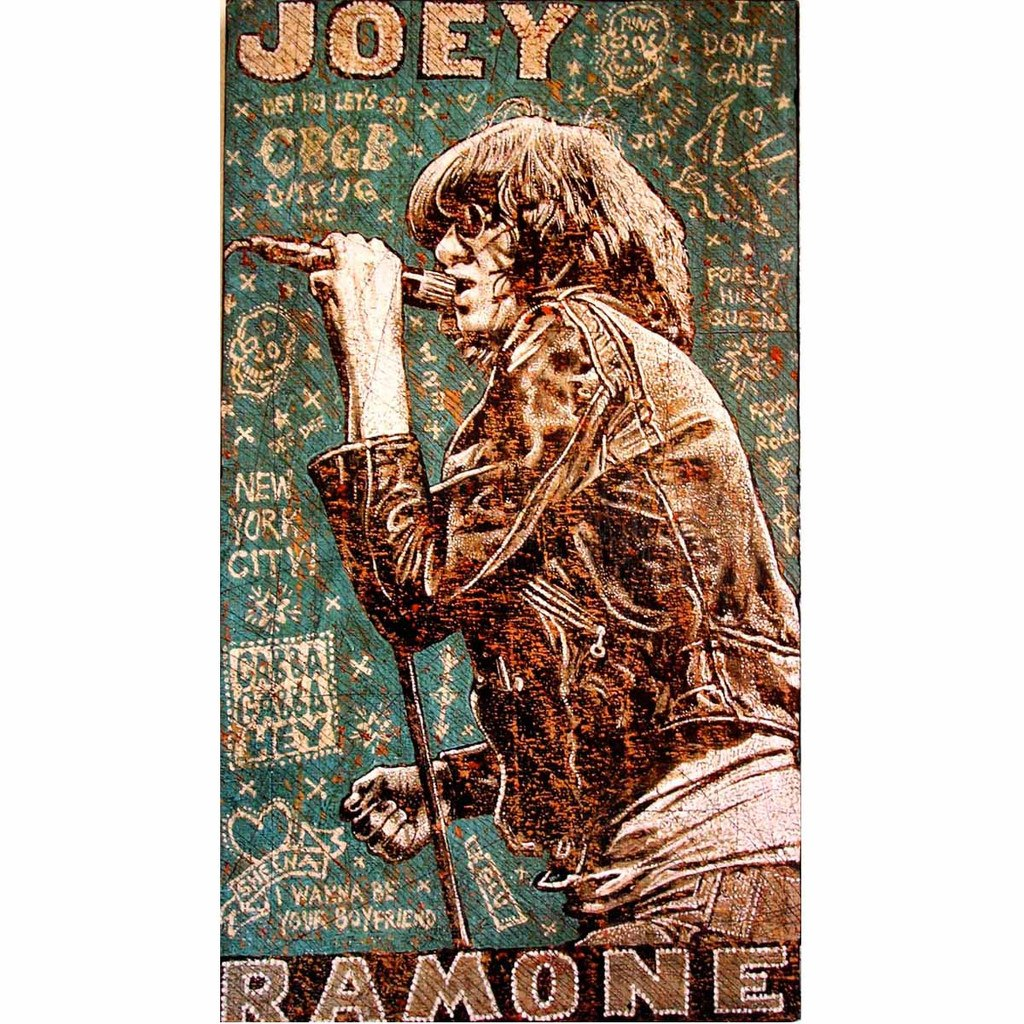 Joey Ramone - Jon Langford - Yard Dog Art