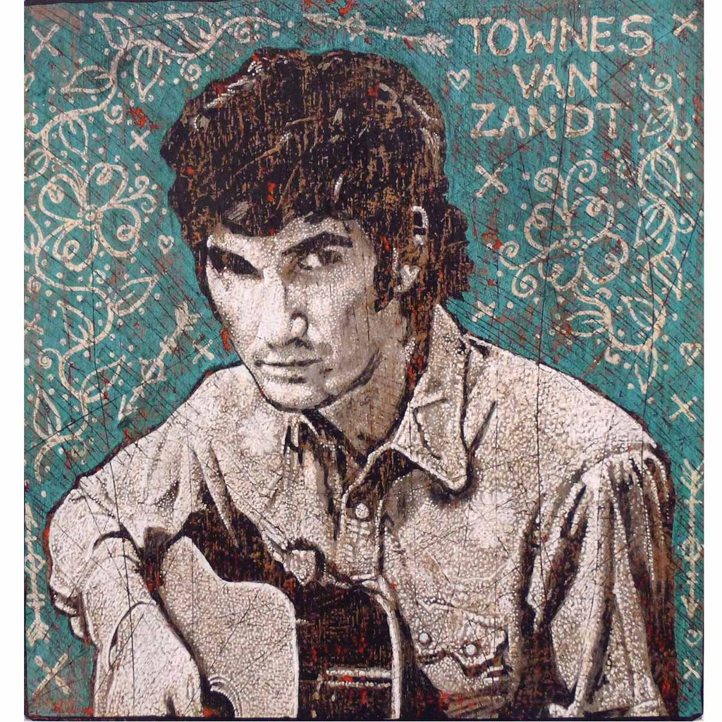 Townes Van Zandt - Jon Langford - Yard Dog Art