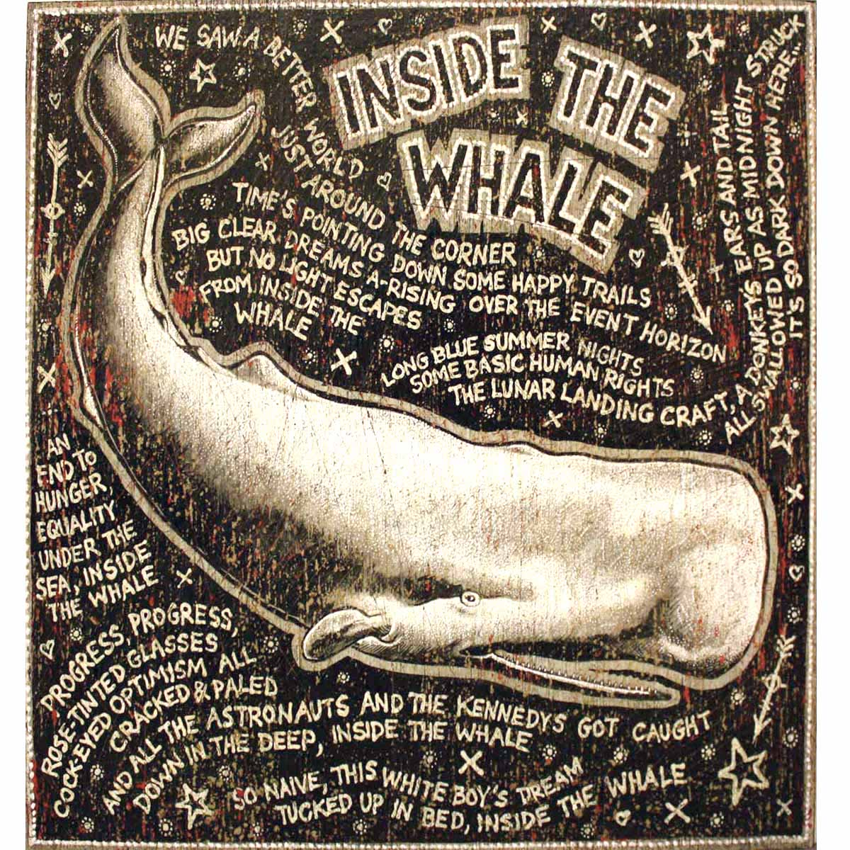 Inside The Whale - Song Paintings Print #4