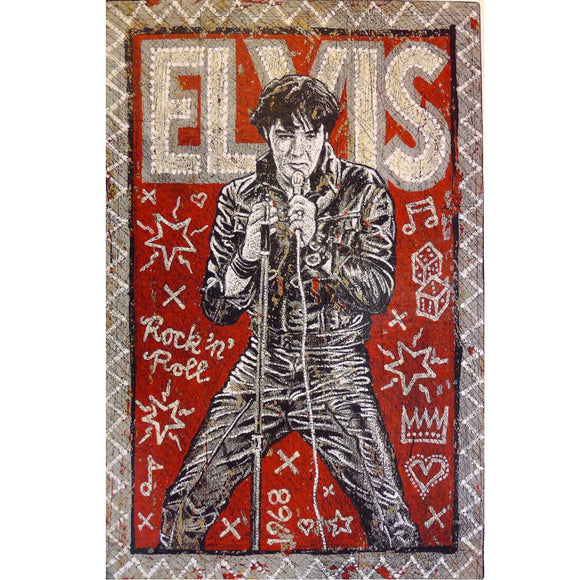 Elvis - Jon Langford - Yard Dog Art