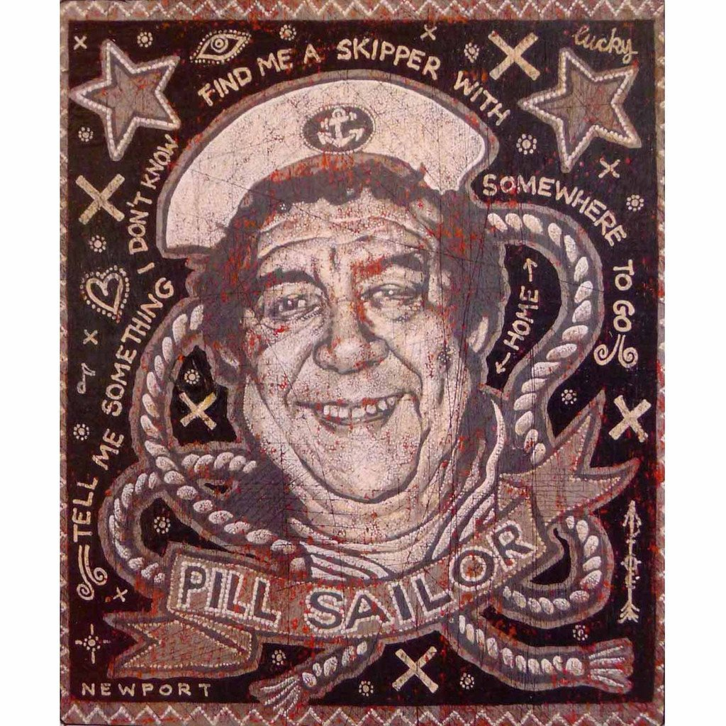 "www.yarddog.com, Jon Langford ""Pill Sailor"""