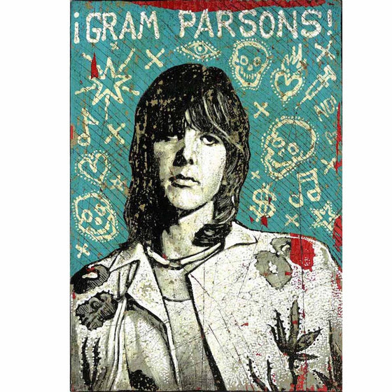 Gram Parsons - Jon Langford - Yard Dog Art