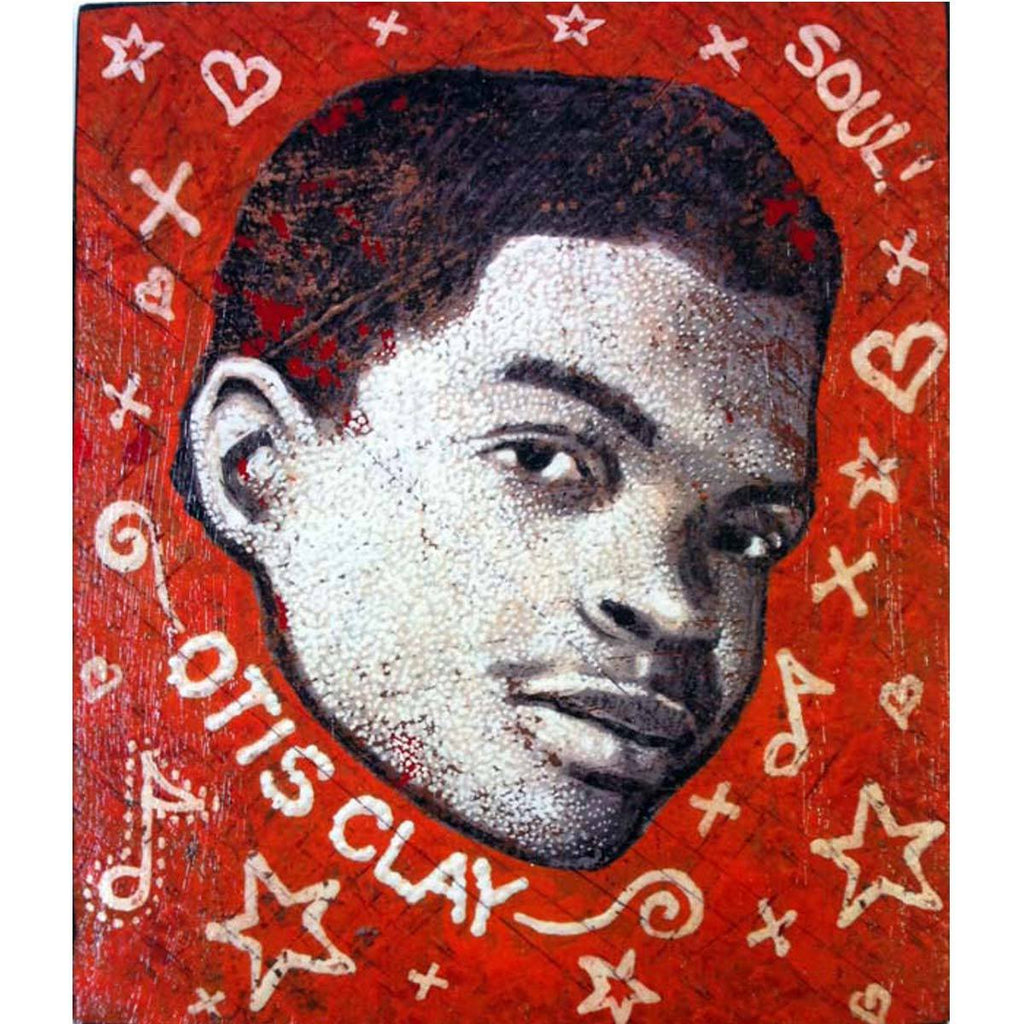 Otis Clay - Jon Langford - Yard Dog Art
