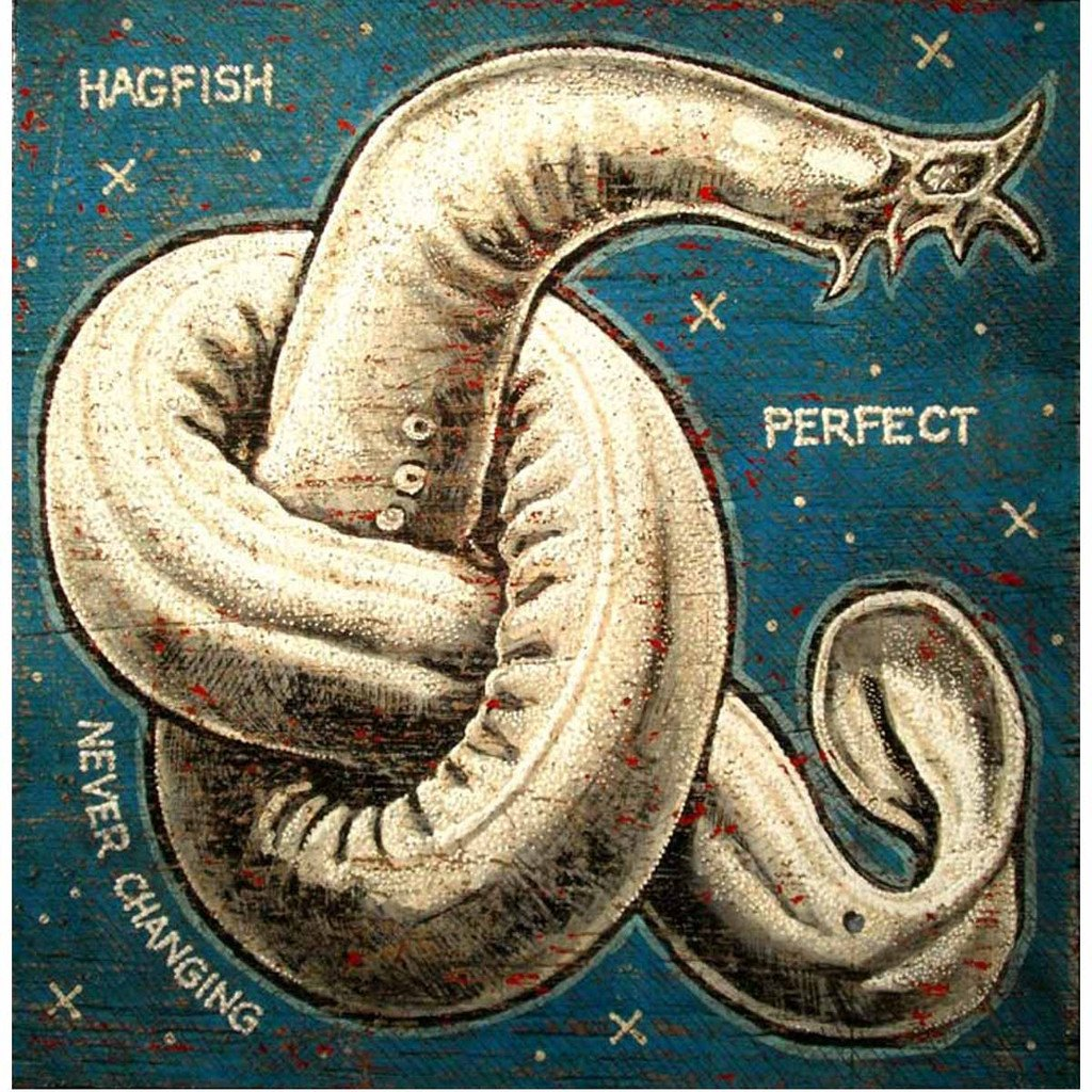 Hagfish - Jon Langford - Yard Dog Art