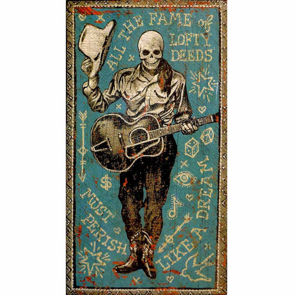 All The Fame Of Lofty Deeds - Jon Langford - Yard Dog Art