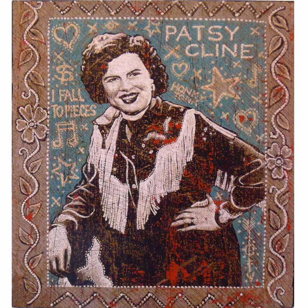 Patsy Cline - Jon Langford - Yard Dog Art