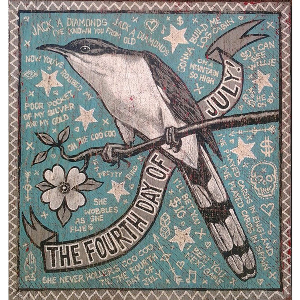 July 4th Coo! Coo! - Jon Langford - Yard Dog Art