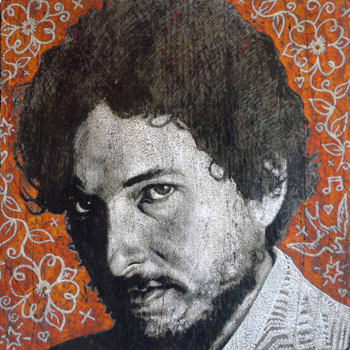 Dylan - New Morning - Jon Langford - Yard Dog Art