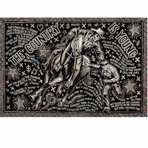 The Country Is Young - Jon Langford - Yard Dog Art
