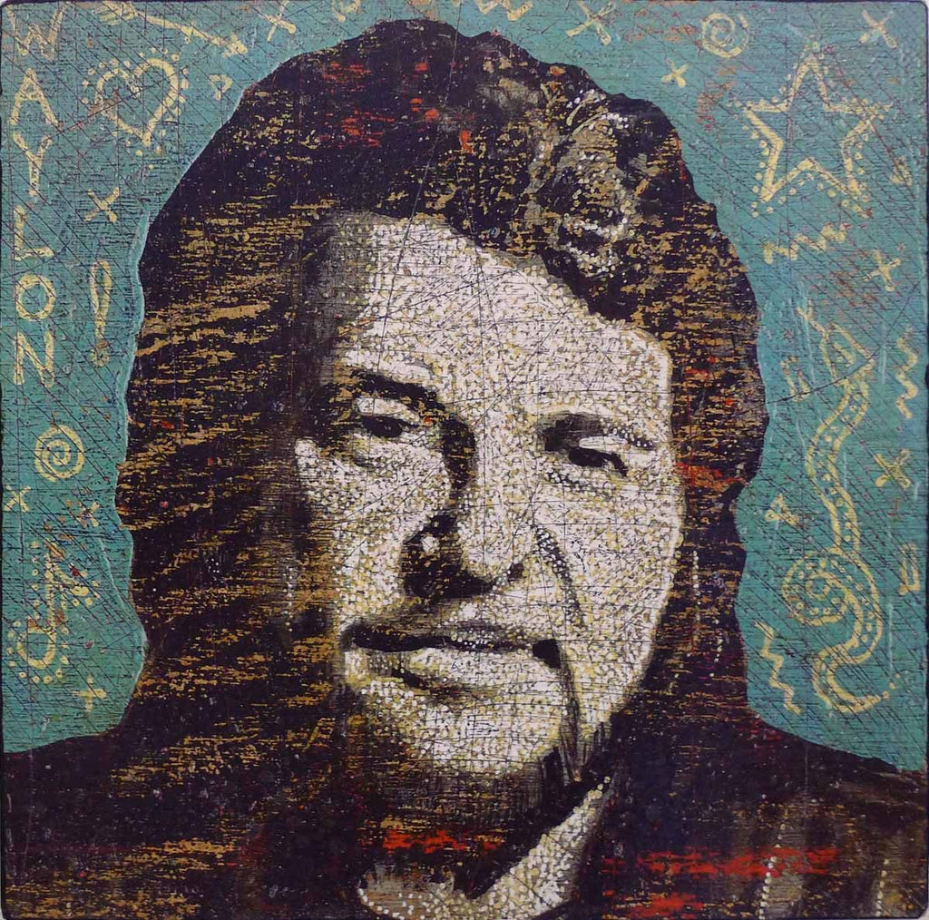 Waylon - Jon Langford - Yard Dog Art