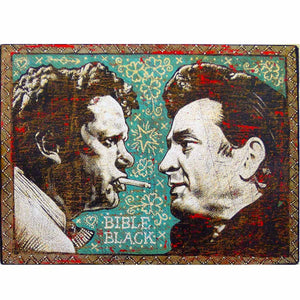 Bible Black - Jon Langford - Yard Dog Art