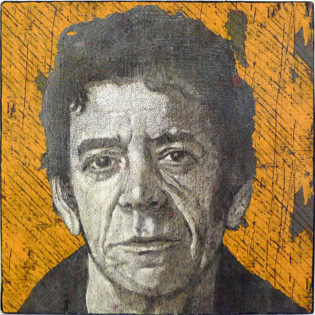 Lou Reed - Jon Langford - Yard Dog Art