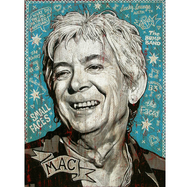 Ian McLagan - Jon Langford - Yard Dog Art