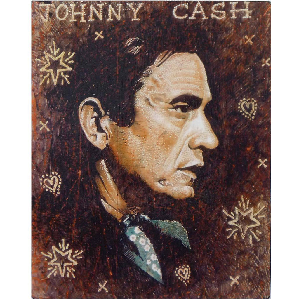 Johnny Cash - Jon Langford - Yard Dog Art