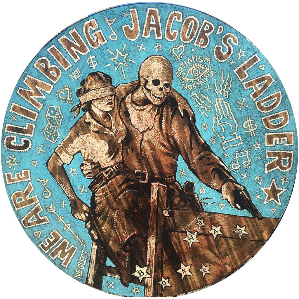 Jacob's Ladder - Jon Langford - Yard Dog Art